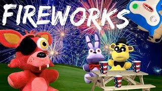 FNAF Plush – Foxy's Firework Party (Featuring the Fugglers)