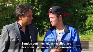 """Sen Super""-de bäsleşýän türkmen tansçysy"