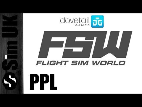 PPL Free Flight Part 1 | Isle Of White - Portsmouth - Southampton - Bournemouth | FLIGHT SIM WORLD