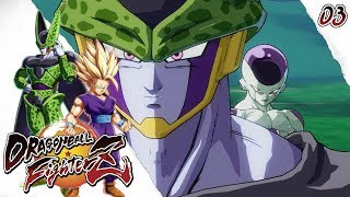 FREEZER Y CELL JUNTOS! OMG! Dragon Ball Fighter Z MODO HISTORIA Parte 3