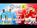 🔵Man Utd end Man City's Unbeaten Run!🔴 (0-2 Manchester Derby 2021 Shaw Bruno Goals Highlights)