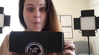 Testing out YouTube Live with a Makeup Geek Unboxing!