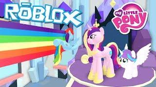 Roblox: My Little Pony 3D: Rollenspiel ist Magie - Ich habe Flurry Heart verloren