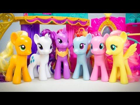 My Little Pony Friendship is Magic Crystal Princess Palace Twilight Sparkle MLP Toys