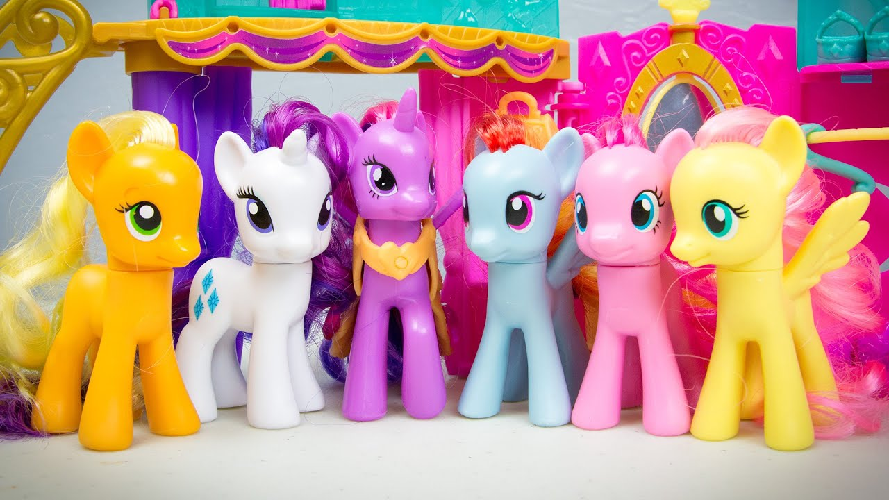 My Little Pony Toys : My little pony friendship is magic crystal princess palace