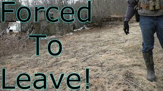 Abandoned Race Track Exploration - Forced To Leave!
