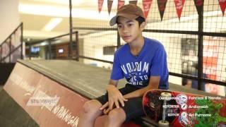 Rubi anak Marshal 'Ada Band' jago main skateboard, lihat aksinya!