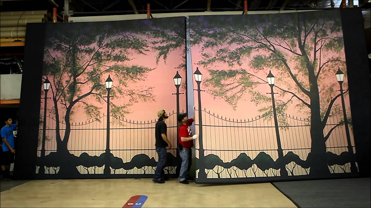 Case Study: Mary Popins Stage Backdrops for Ozark Christian College