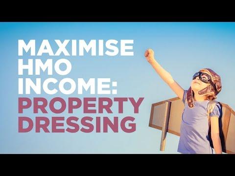 Maximise HMO income: Property Dressing