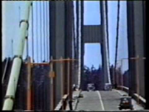 Collapse of the Tacoma Narrows Bridge  on the 7th November, 1940