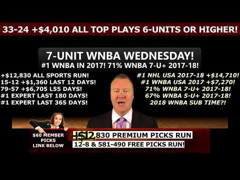 FREE SPORTS PICKS, NBA PLAYOFFS BETTING TIPS ATS, 9-3 +$2620 MLB PREDICTIONS (05/22/2018)