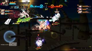 [Elsword JP] Reckless Fist 3v3 Arena