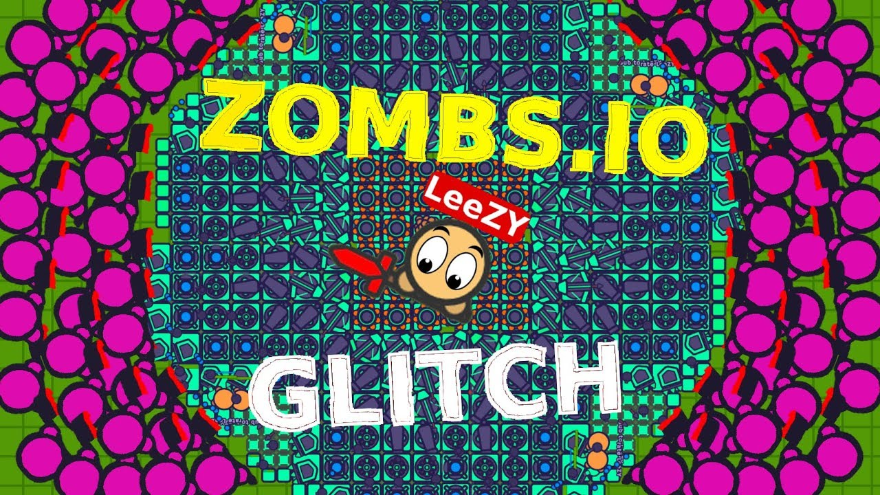 ZOMBS IO BUG GLITCH SMALLEST DOUBLE BASE EVER ZOMBIES SPAWN