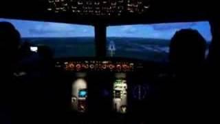 tcas alert during approach