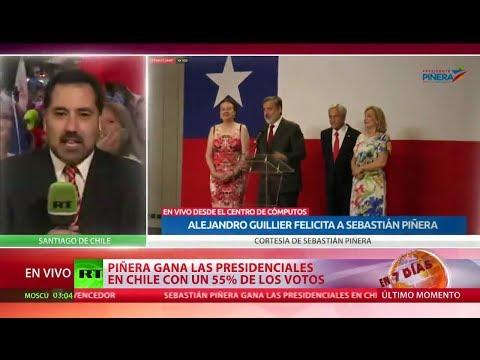 Sebastián Piñera vuelve a la presidencia de Chile