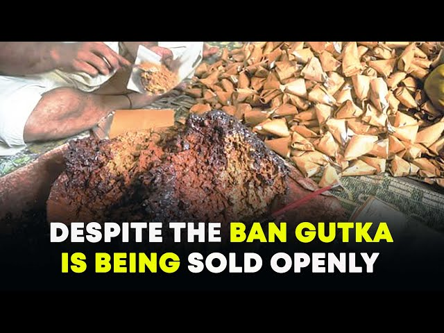 Gutka, a hazardous chewing tobacco Openly Sold