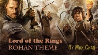 Lord of the Rings Rohan Theme (Violin Cover)