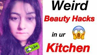 7 UNBELIEVABLE Beauty  Skin / Hair Hacks   Best Kitchen Hacks for Beauty   JSuper Kaur