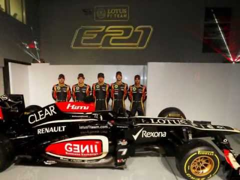 Lotus E21 2013 Formula One Car