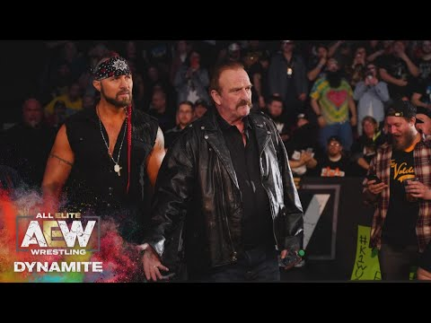 JAKE ROBERTS REVEALS HIS CLIENT AND THE ELITE STICK TOGETHER | AEW DYNAMITE 3/11/20, SALT LAKE CITY