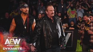 JAKE ROBERTS REVEALS HIS CLIENT AND THE ELITE STICK TOGETHER   AEW DYNAMITE 3/11/20, SALT LAKE CITY