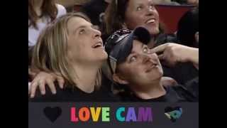 """Debut of the """"LOVE CAM"""" at Seattle Storm vs. Washington (6/22/2014)"""