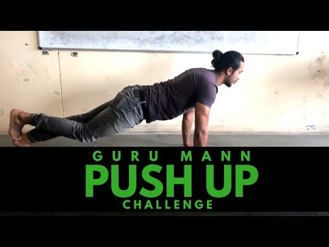 Guru Mann Push Up Challenge Accepted | CHALLENGE ACCEPTED | Fit Wit Atwal