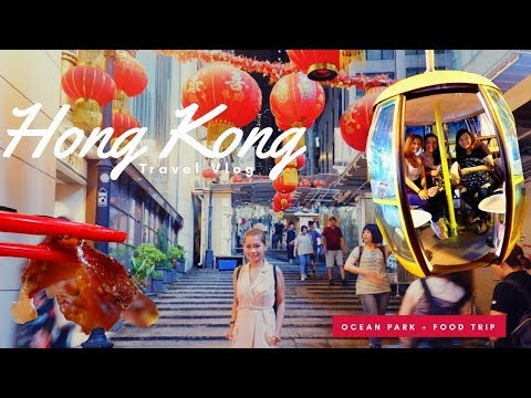 Travel to Hong Kong (Ocean Park + Food Trip) | Katrina Escover