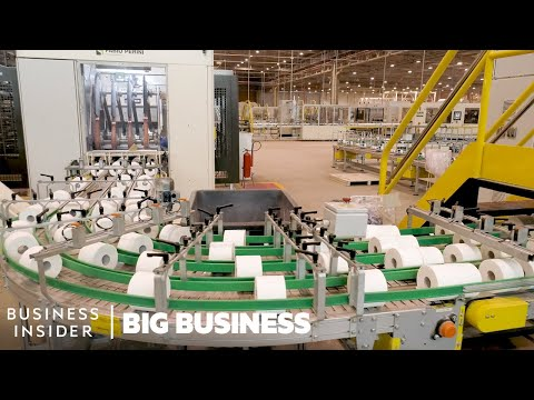 How Toilet Paper Companies Dealt With The 845% Demand Spike | Big Business