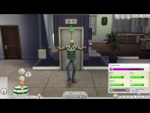 Hybrid Vampire/Spellcaster -The Sims 4