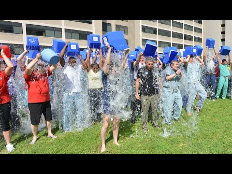 Baylor College of Medicine accepts the ALS Ice Bucket Challenge