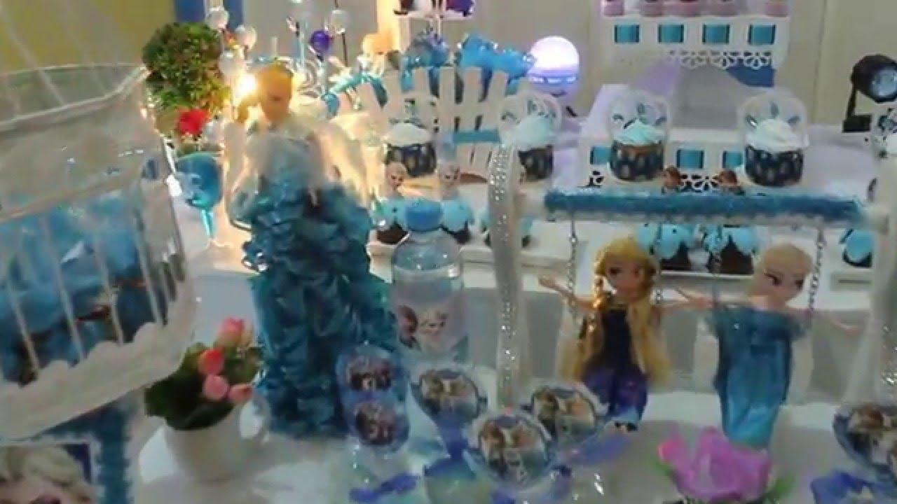 Decoracion frozen en mesas vintage youtube - Decoracion para peceras ...