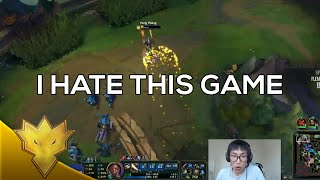 TSM Doublelift - I Hate This Game - Solo Queue Funny Moments & Highlights