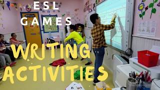Esl Games For Kids // Three Writing Activities