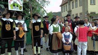35. Altstadt-Weinfest Zeil am Main 2019 - Festzug + Eröffnung