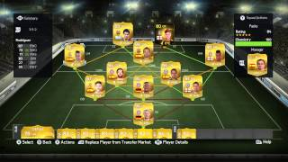 Fifa 15 - Squad Builder - Packed 3 League Hybrid! Thumbnail
