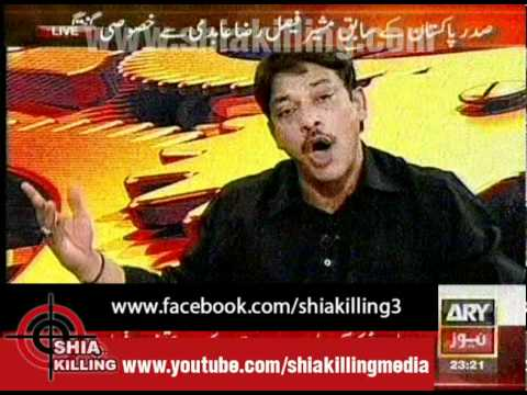 11th Hour 04july2012 - Syed Faisal Raza Abidi 1st Tv Program After Resignation