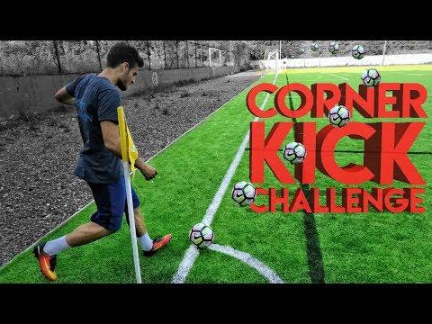 CORNER KICK CHALLENGE w/ Nole