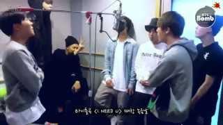 [BANGTAN BOMB] Recording I NEED U chorus in BTS choir - BTS (방탄소년단)
