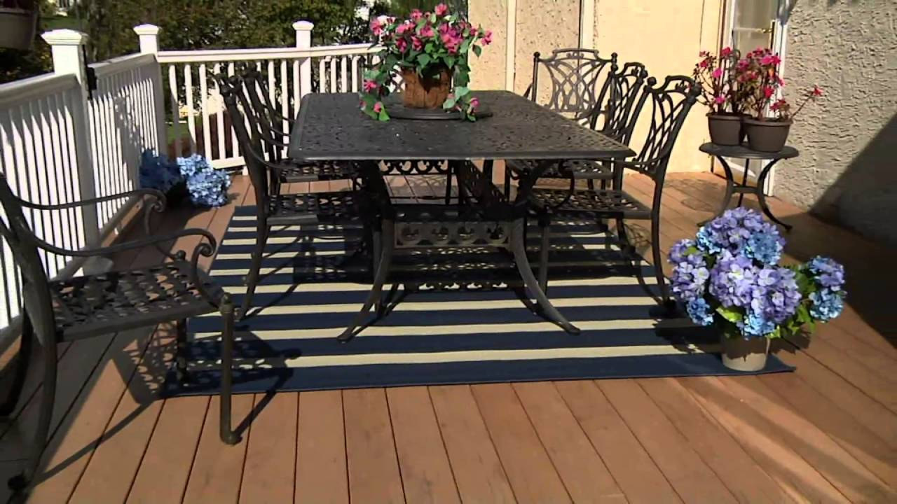 Tommy Bahama Indoor Outdoor Awning Stripe Rug On Qvc