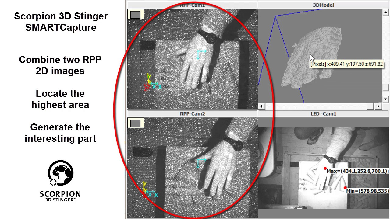 Global Shutter 3D Camera for Robot Vision