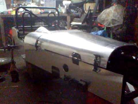 kids kit car lotus 7 build turbo  YouTube