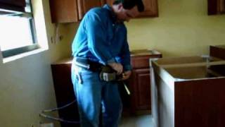 How To Install Base Cabinets (part 3 Of 4).wmv