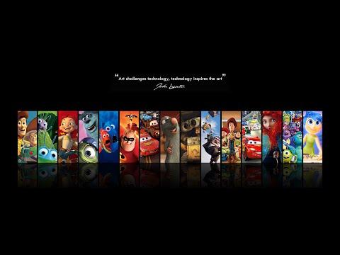 Disney - Pixar Trailer!!!