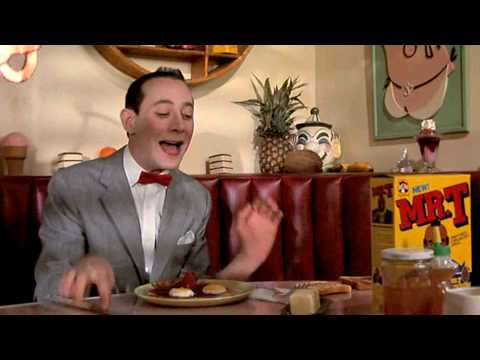 Have danny gans pee wee herman right! good