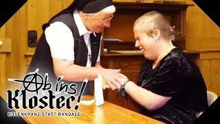 Emotionaler Zusammenbruch! So hat das Kloster die Mädels verändert | Ab ins Kloster! | kabel eins