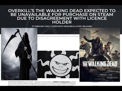 + OVERKILL's The Walking Dead REMOVED FROM STEAM + Background! + thumbnail