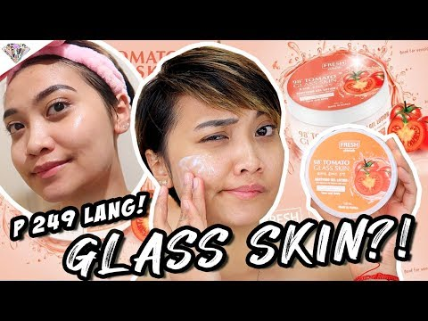 ANG LAKAS MAKA GLASS SKIN!| I USED FRESH SKINLAB 98% TOMATO GLASS SKIN GEL FOR OVER A MONTH 🍅