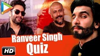 Ranveer Singh Quiz: How Well Do Vishal-Shekhar Know The POWERHOUSE Of Bollywood