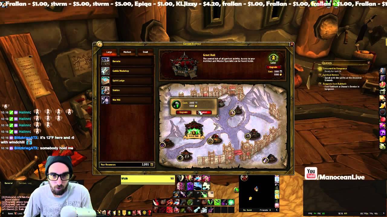 Level 3 garrison horde warlords of draenor youtube level 3 garrison horde warlords of draenor malvernweather Images